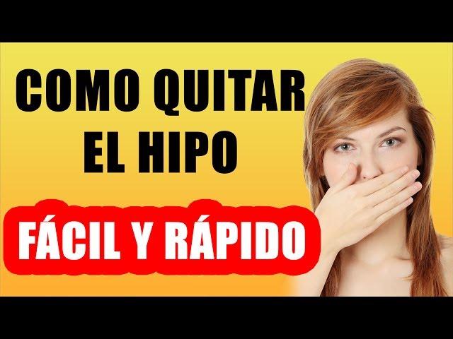 Como Quitar El Hipo FACIL Y RAPIDO Remedios Caseros Para El Hipo
