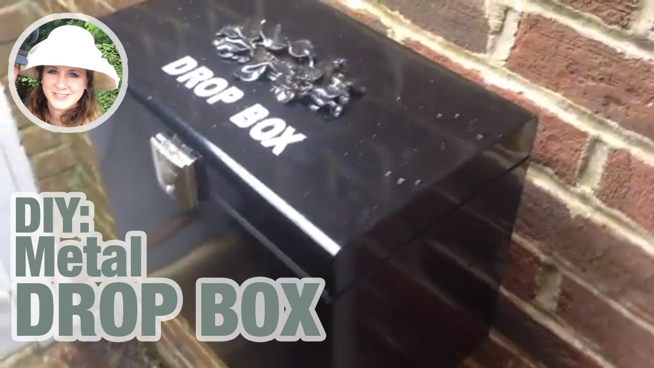 sc 1 st  YouTube & DIY metal drop box for a fraction of the price. - YouTube Aboutintivar.Com