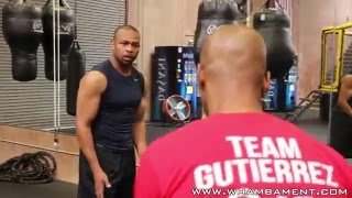 Roy Jones Jr. - The Art of The Hook (Behind the scenes pt. 1)