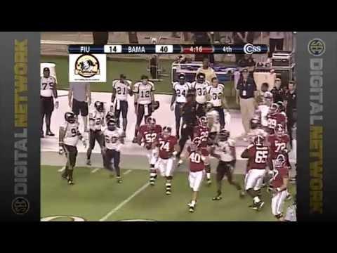 2009 Florida International vs. #4 Alabama (HQ)
