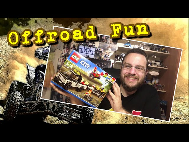 Offroad Fun With The ATV Race Team From Lego City (60148)