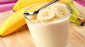 Glace à la banane facile sans sorbetière