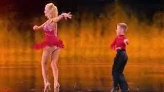Alla & Daniel HOT Mom and COOL Son Dance  | Judge Cuts 3 | America's Got Talent 2016 | Ep. 10