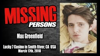 Max Greenfield Missing 1 Year Today!!!  CCTV Footage of man with Max Before His Disappearance...