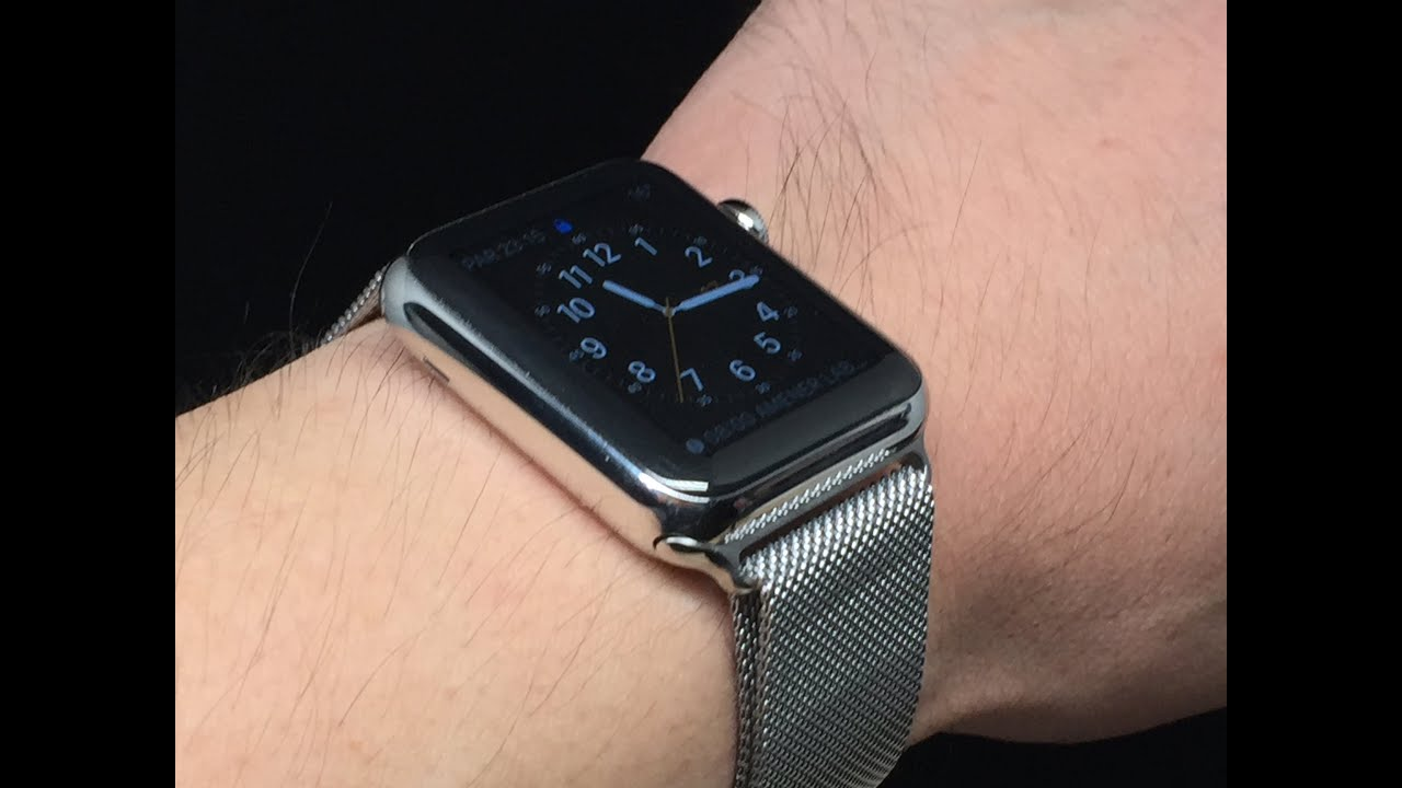 apple milanese lesterchan blog o net loop watch watches wearing