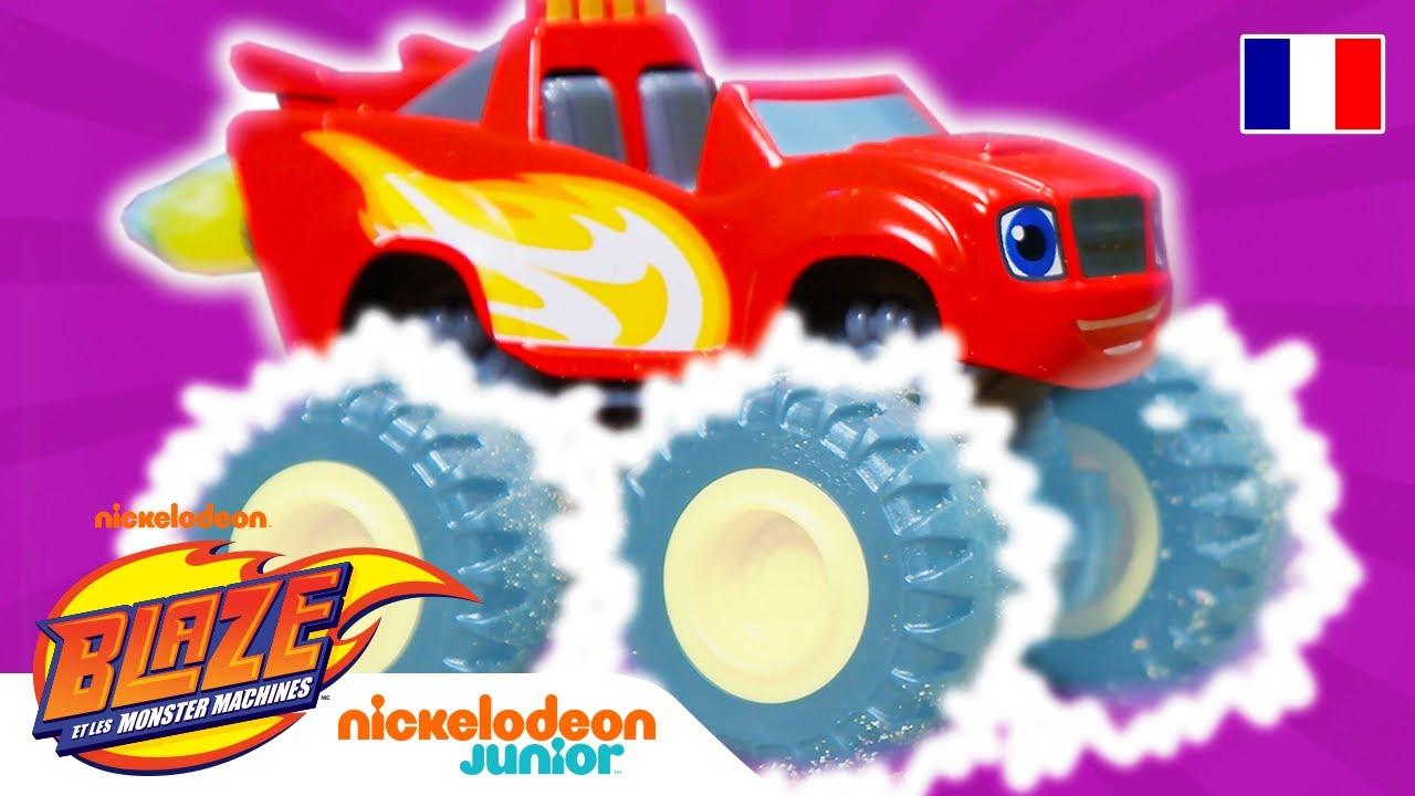 Les pneus superpuissants de Blaze vs. le robot boulanger géant!   Blaze et les Monster Machines