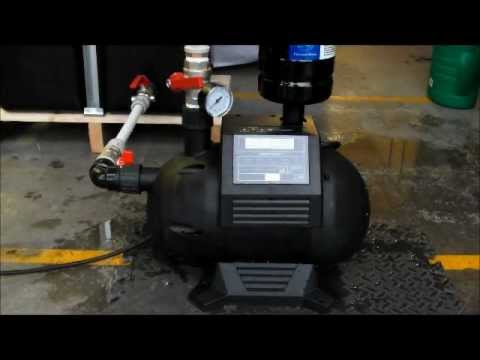Install Home Water Pump System