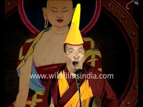 Lama Tashi chanting