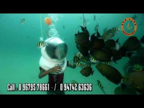 Sea Walking - Helmet Diving at Andaman