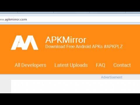 Cara download di apkmirror