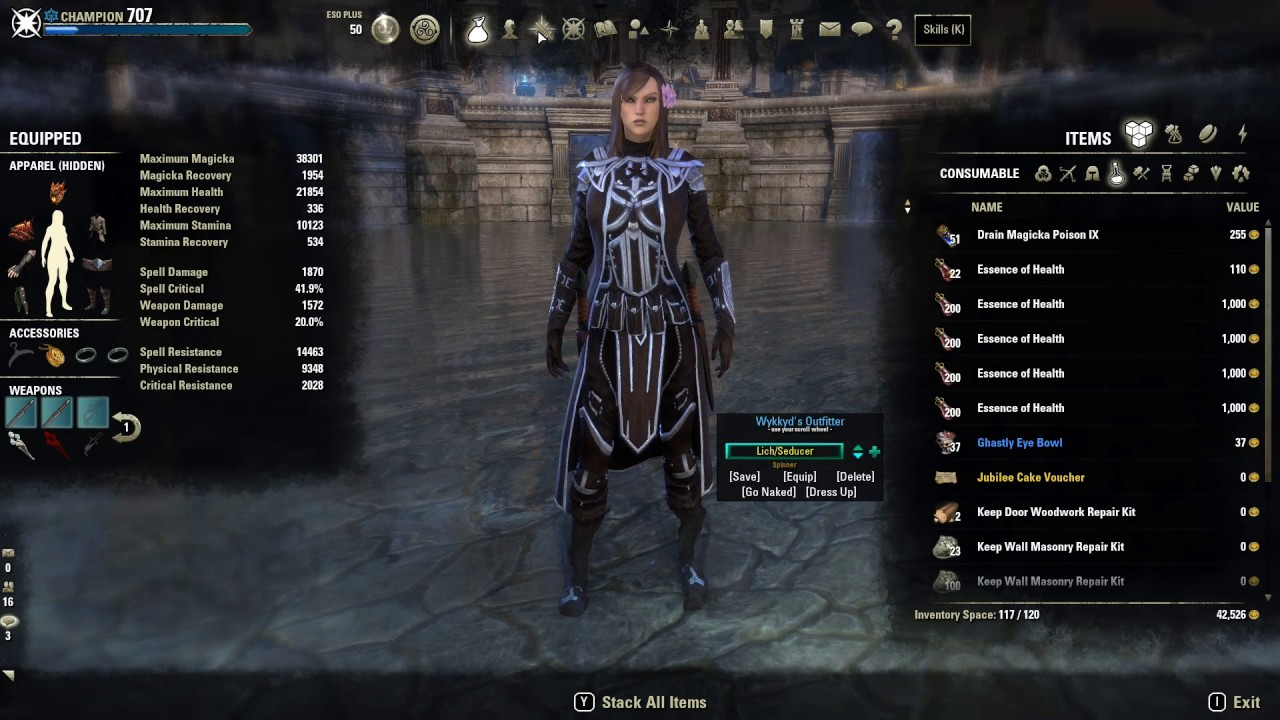 Magicka Dk Build Eso