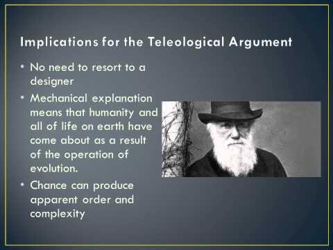 Teleological argument for gods existence essay help