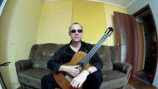 Незрячий преподаватель  Уроки игры на гитаре 6. Звукоизвлечение