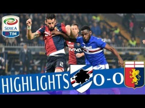 Sampdoria - Genoa 0-0 - Highlights - Giornata 31 - Serie A TIM 2017/18