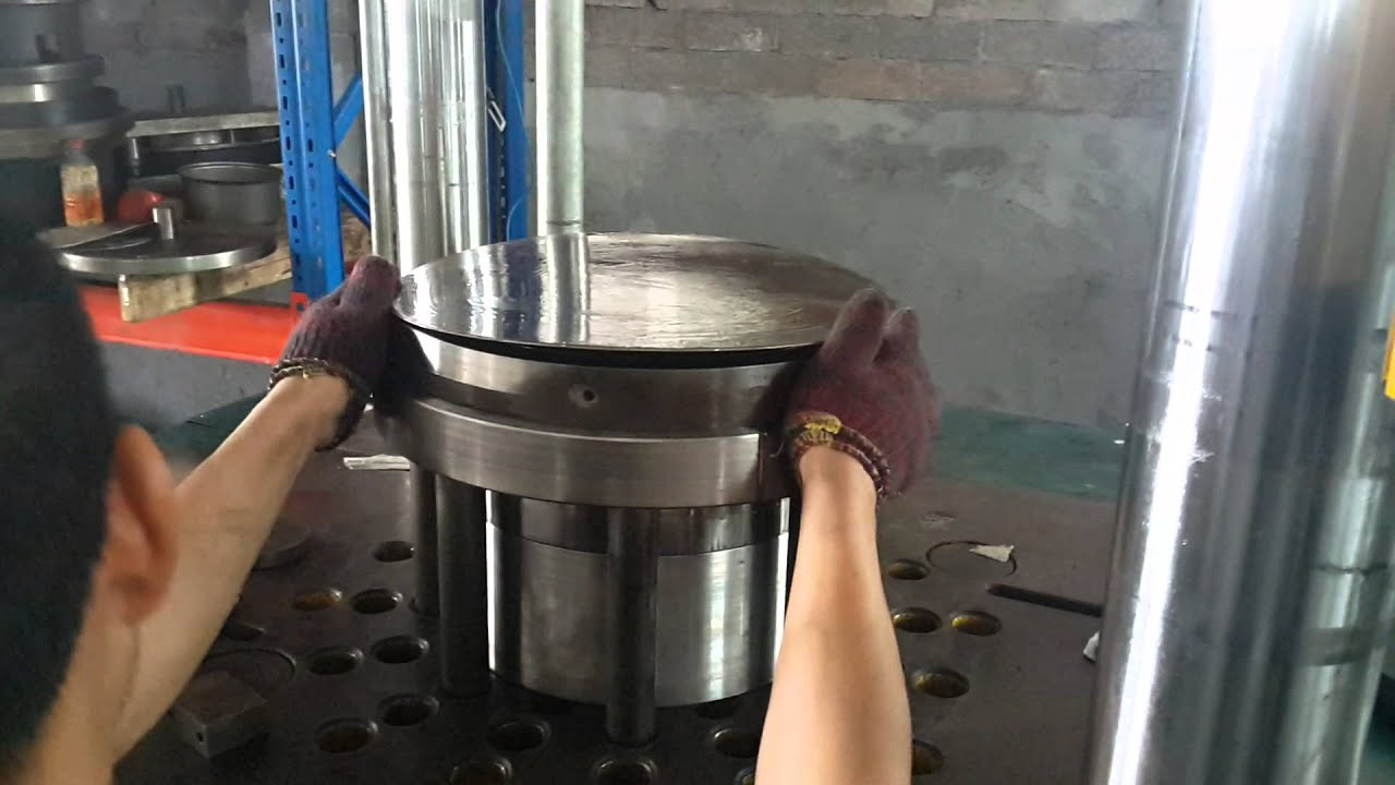 Deep Drawing Hydraulic Press 200 Tons For Frying Pan Fry