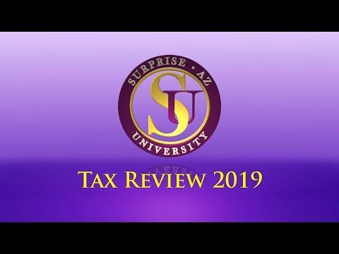 Surprise University - Tax Review 2019 video thumbnail