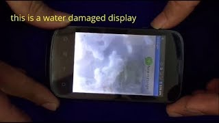 How To Remove Water From Mobile Display