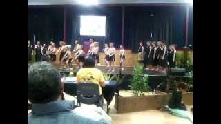 St Josephs school kapa haka amazing performance Hawera New Zealand 1