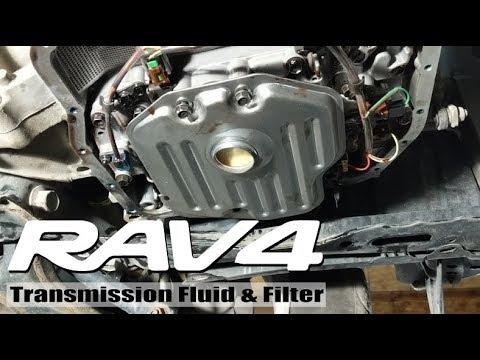2008 Rav4 Transmission Fluid And Filter Change Youtube