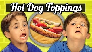 KIDS vs. FOOD #19 - HOT DOG TOPPINGS