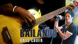 """Enrique Iglesias """"BAILANDO"""" Bass Cover by Chami"""