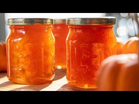 ВАРЕНЬЕ из ТЫКВЫ | тыквенный конфитюр| простой рецепт | Pumpkin Jam | | рецепты из тыквы