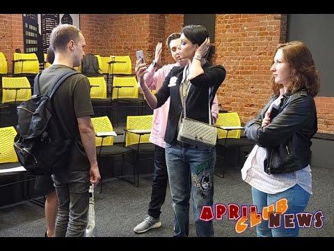 Настасья Самбурская на презентации Bigo Live