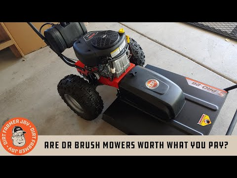 Are DR Brush Mowers Worth What You Pay?