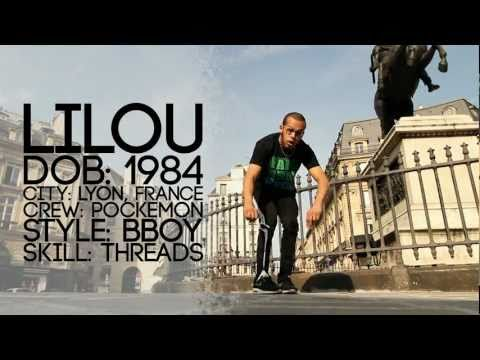 Bboy LILOU Tutorial Part 1 of 4 | YAK FILMS BREAK DANCING in Paris, France