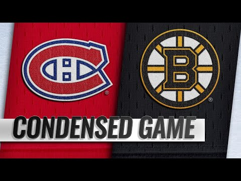 10/27/18 Condensed Game: Canadiens @ Bruins
