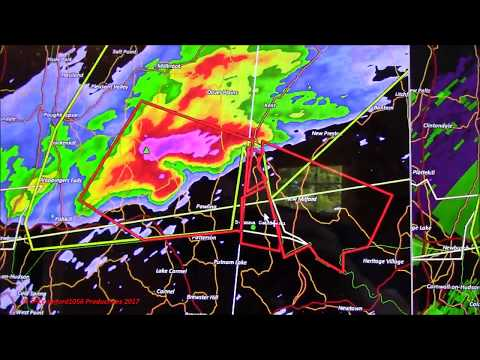 TORNADO WARNING for Fairfield County CT (EAS #1,662)