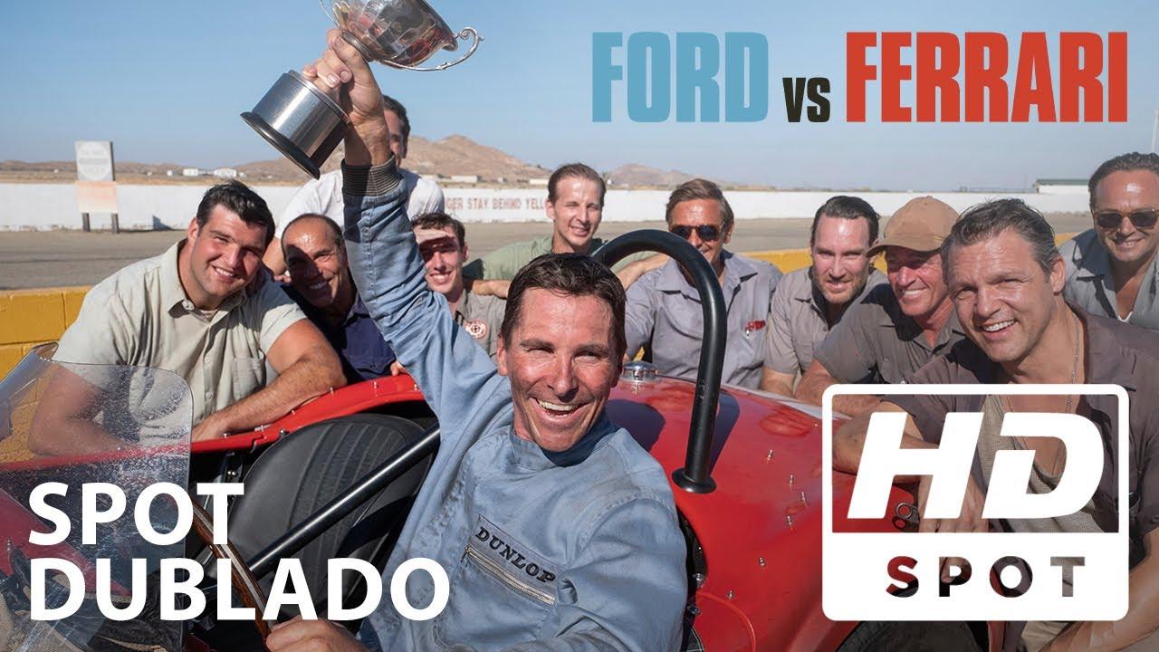 Ford Vs Ferrari Spot Oficial 2 Dublado Hd Youtube
