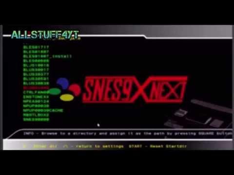 How To Install / Setup SNES Emulator On PS3