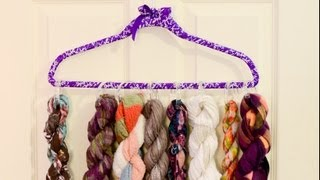 Diy Scarf Organizer For Under $5