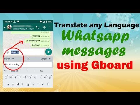 Translate Any Language Whatsapp Messages Using Gboard