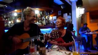 Sylvia Kirchherr feat. Manuel Wurzer @ Laly`s Bar, Puerto Naos - la Palma