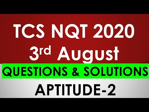 Tcs Nqt Mcq Questions