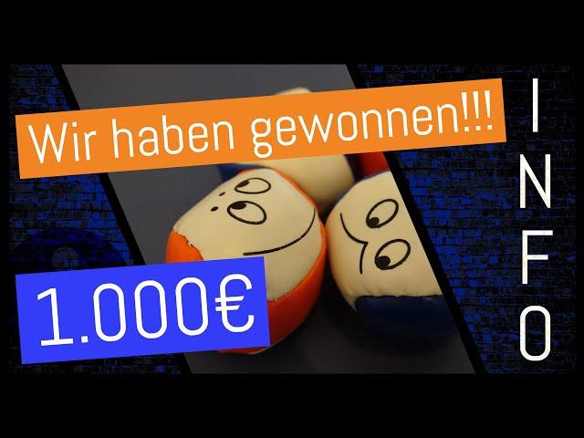 DAS GEWINNERVIDEO!!! - 1.000€ Spende von der Sparda-Bank | TVA