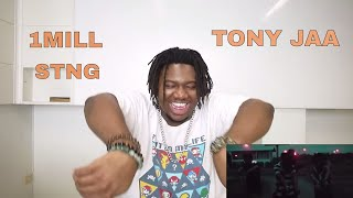 1MILL - TONY JAA ft. STNG | Reaction by The Black Kid