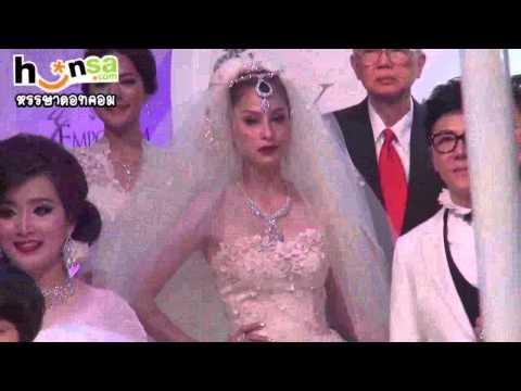 สวยตะลึง! ''ขวัญ อุษามณี''ในชุดเจ้าสาวสุดเริ่ด นางฟ้าเมืองไทย
