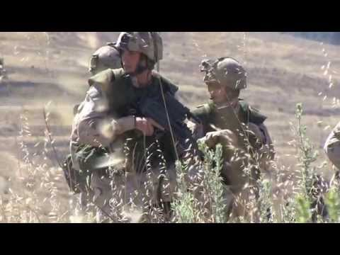U.S. Marines and French Canadian Soldiers - Exercise Dawn Blitz