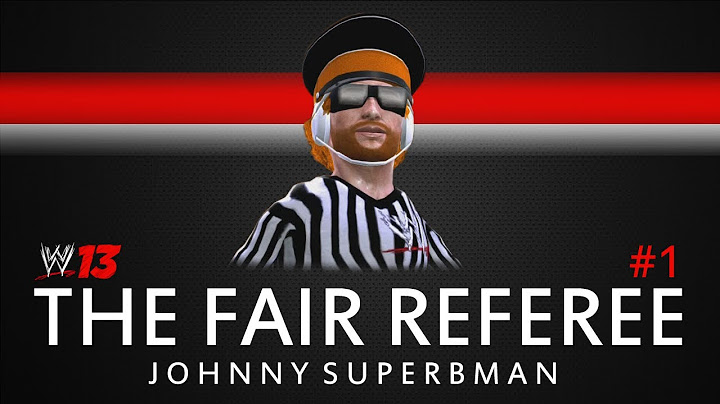 wwe 13 the fair referee ep 1 introducing the ref