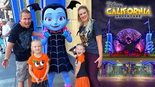 Meeting Vampirina In Real Life At Halloween Time In Disney California Adventures!