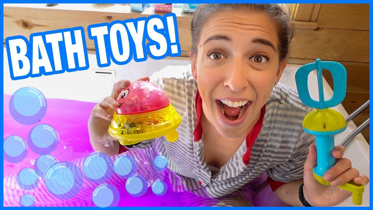 Testing Bathtub Toys!!!