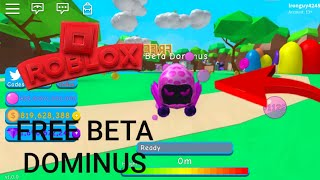 ROBLOX | HOW TO GET FREE BETA DOMINUS | Bubble Gum Simulator