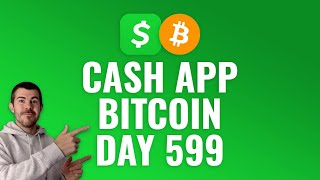 Investing $1 Bitcoin Every Day with Cash App - DAY 599