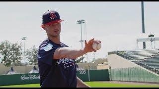 Practice Like The Pros: Mike Soroka demos how to throw sinker