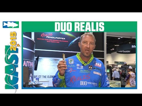 New Duo Realis Pencil Popper With Chris Jackson | ICAST 2015