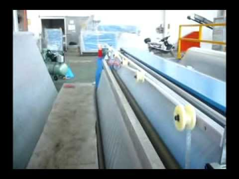Otomatik Kesim üniteli Balonlu Naylon Makinesi