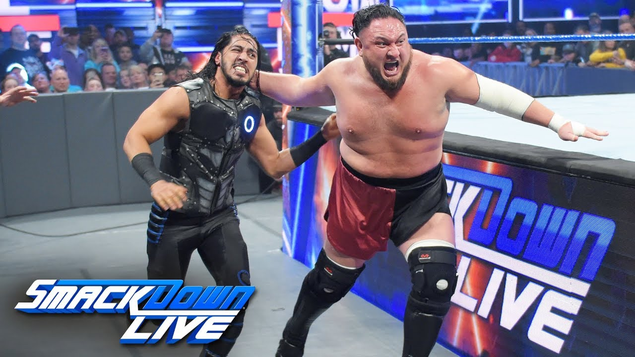 Samoa Joe brutalizes Mustafa Ali: SmackDown LIVE, Jan. 14, 2019